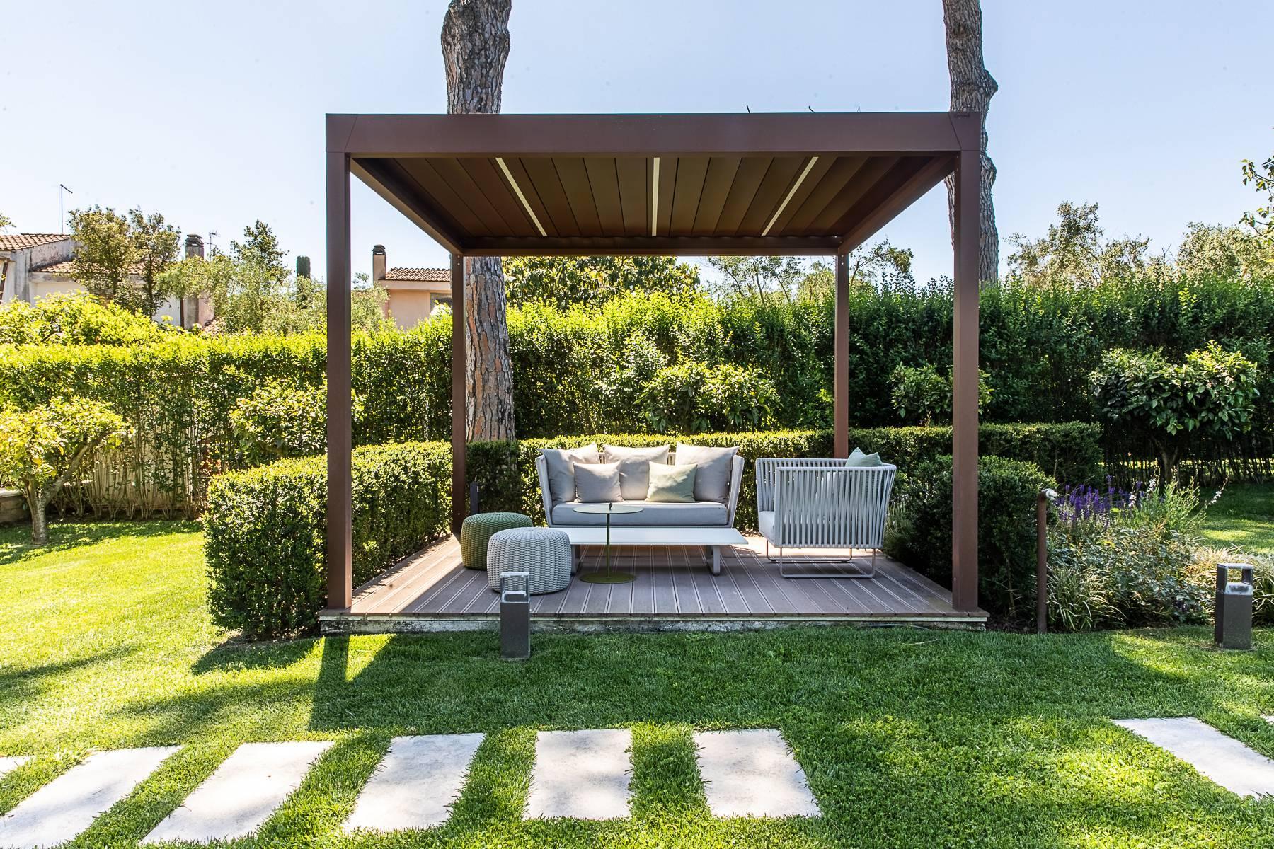 Splendida villa dal gusto contemporaneo con piscina all'Olgiata - 52