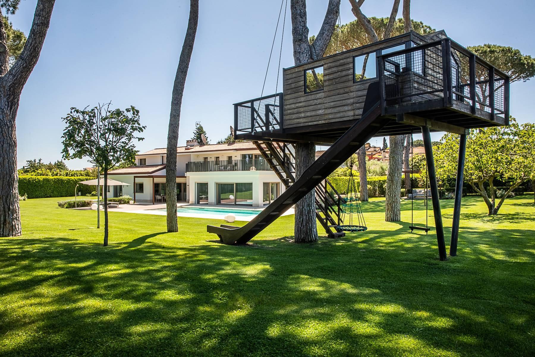 Splendida villa dal gusto contemporaneo con piscina all'Olgiata - 54