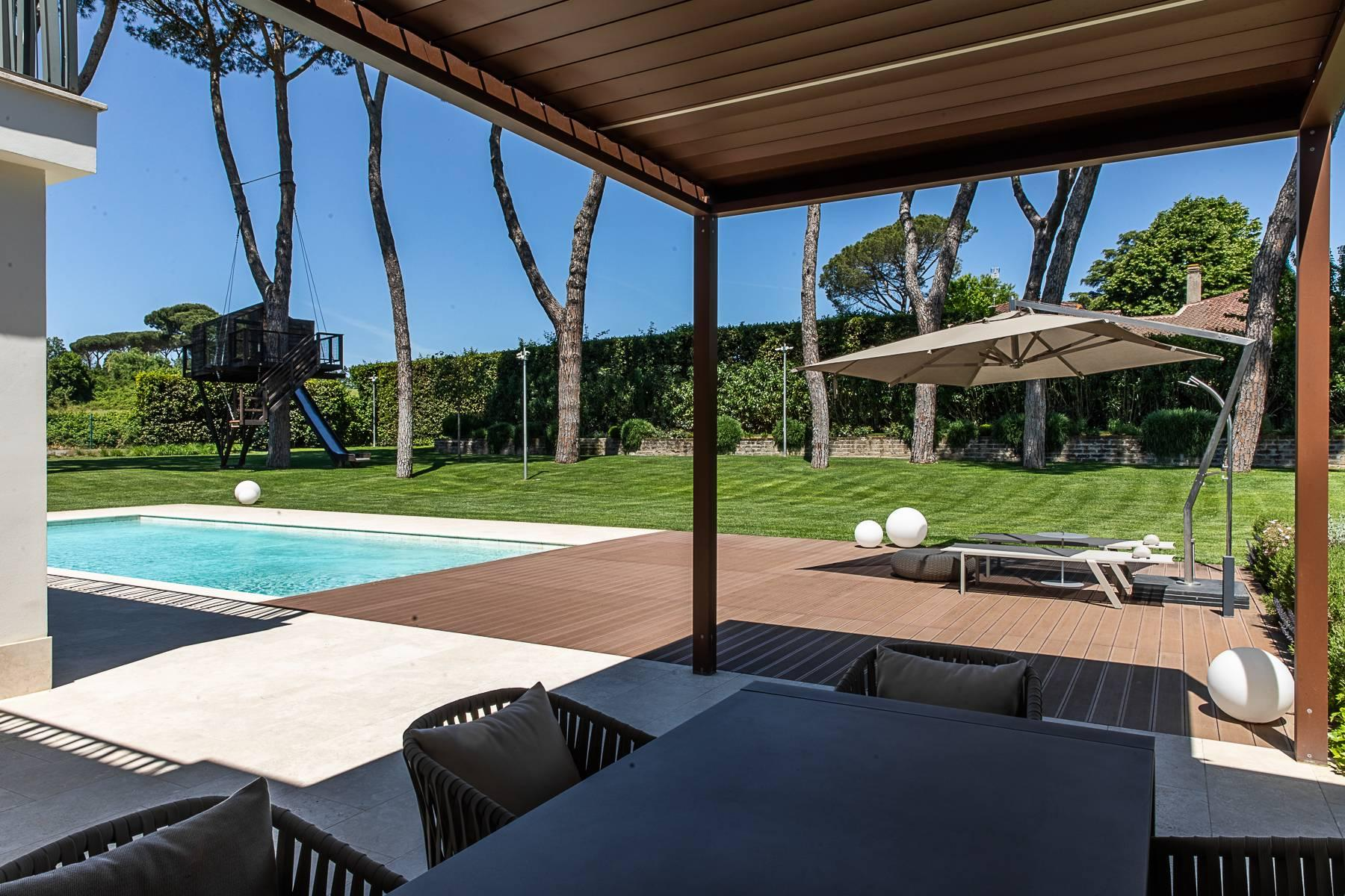 Splendida villa dal gusto contemporaneo con piscina all'Olgiata - 50