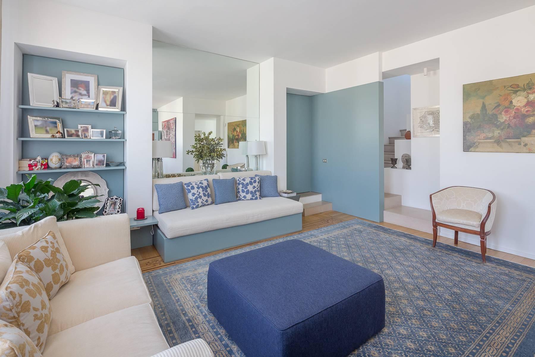 时尚区带露台的全景顶层公寓 - 3