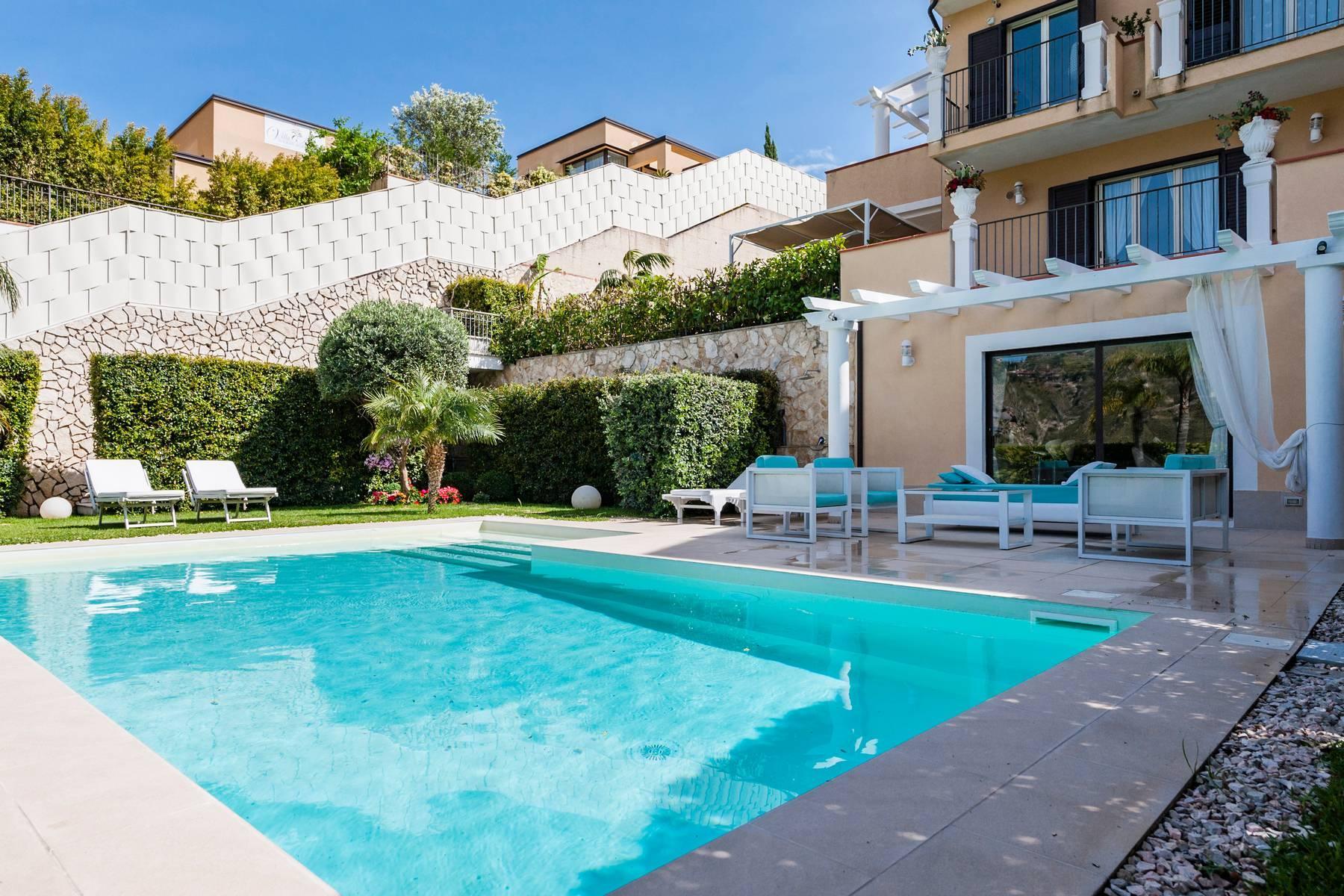 Modern villa with swimming pool in Taormina - 5