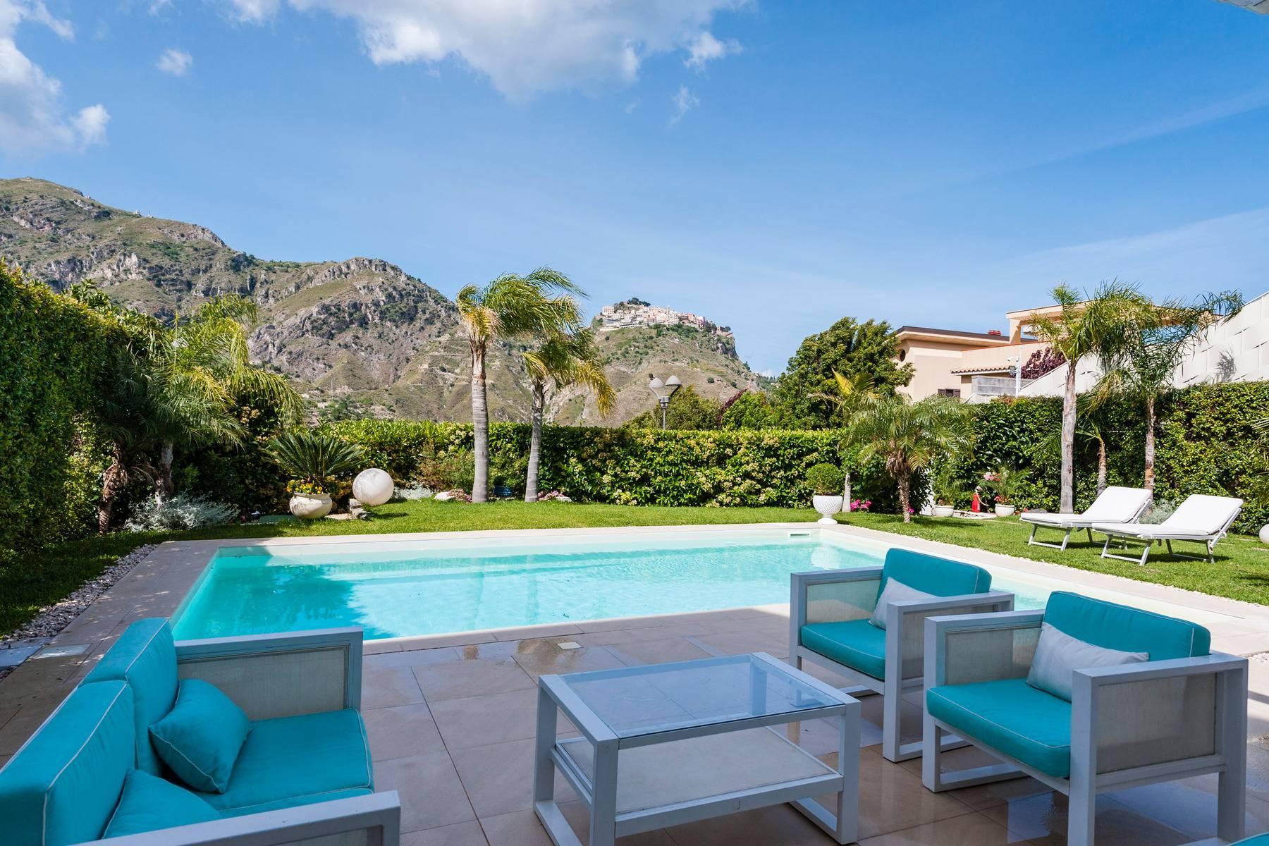 Modern villa with swimming pool in Taormina - 7