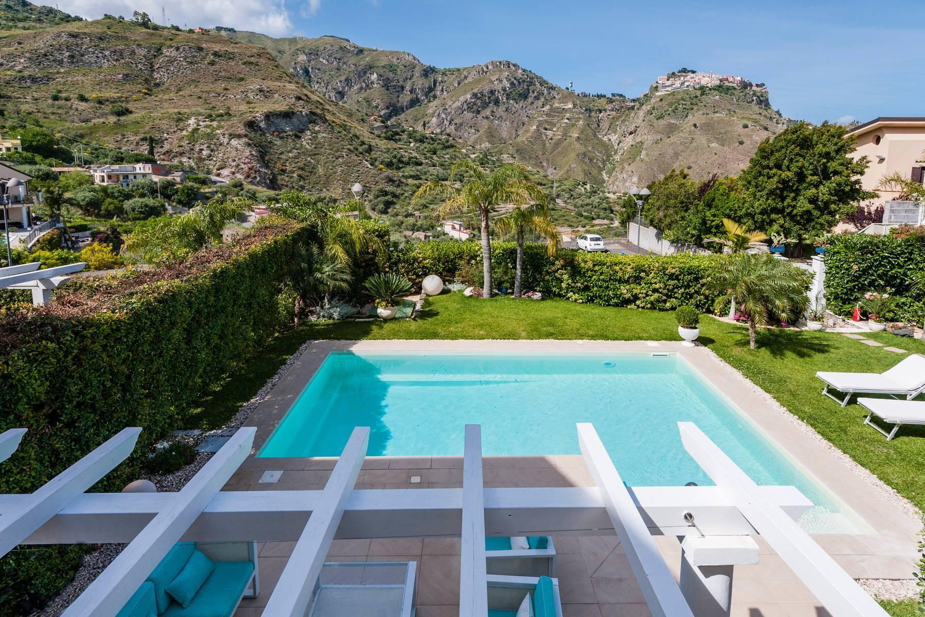 Modern villa with swimming pool in Taormina - 22
