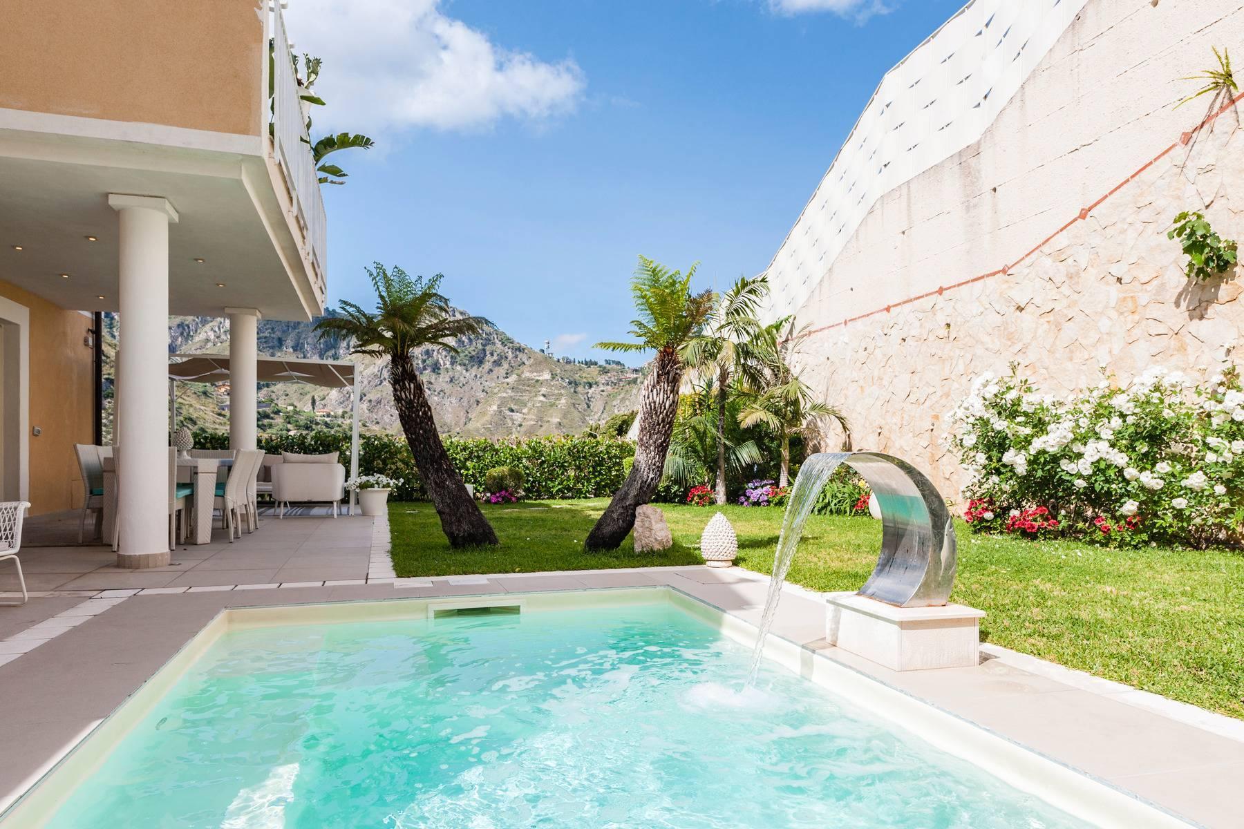 Modern villa with swimming pool in Taormina - 21