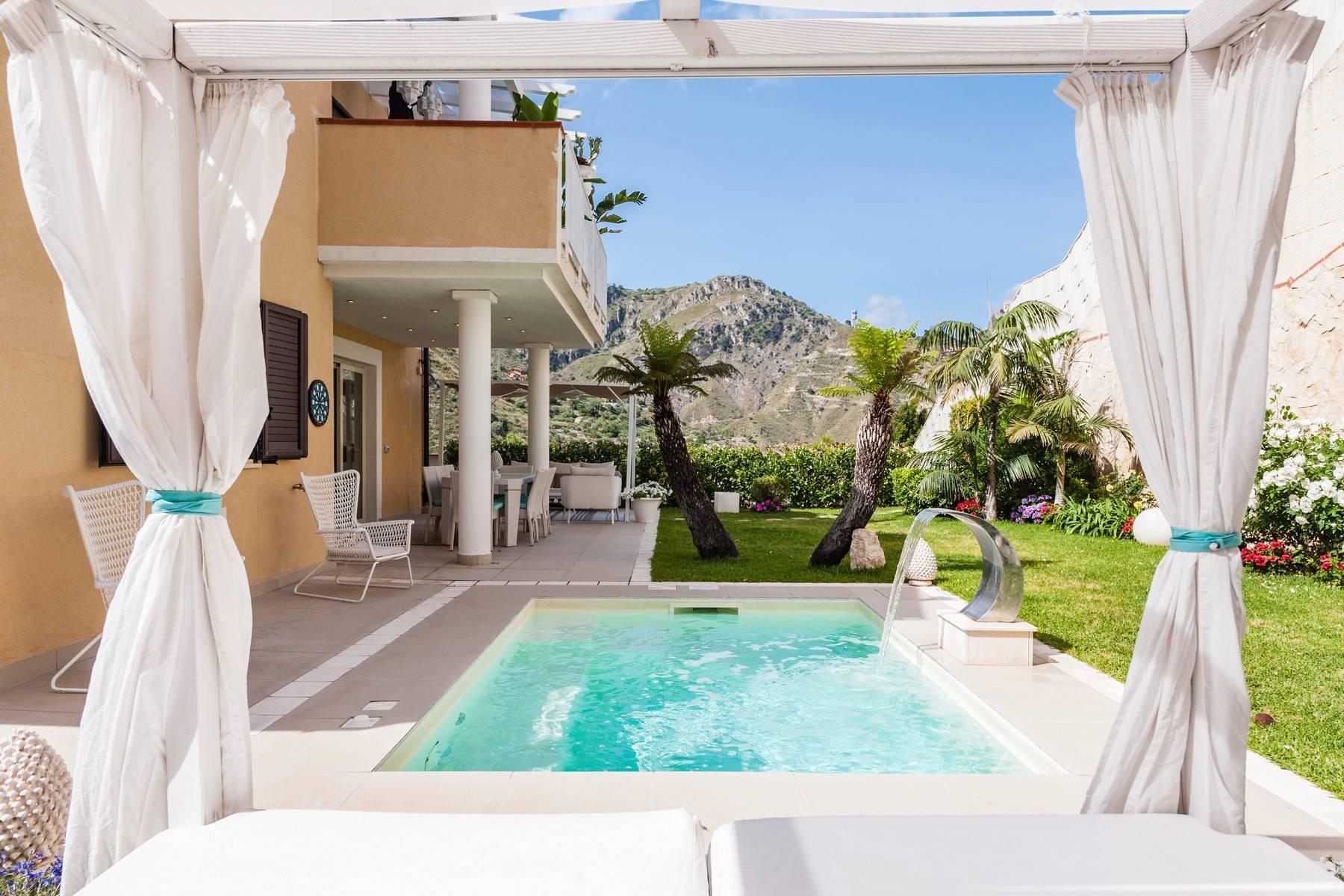 Modern villa with swimming pool in Taormina - 1