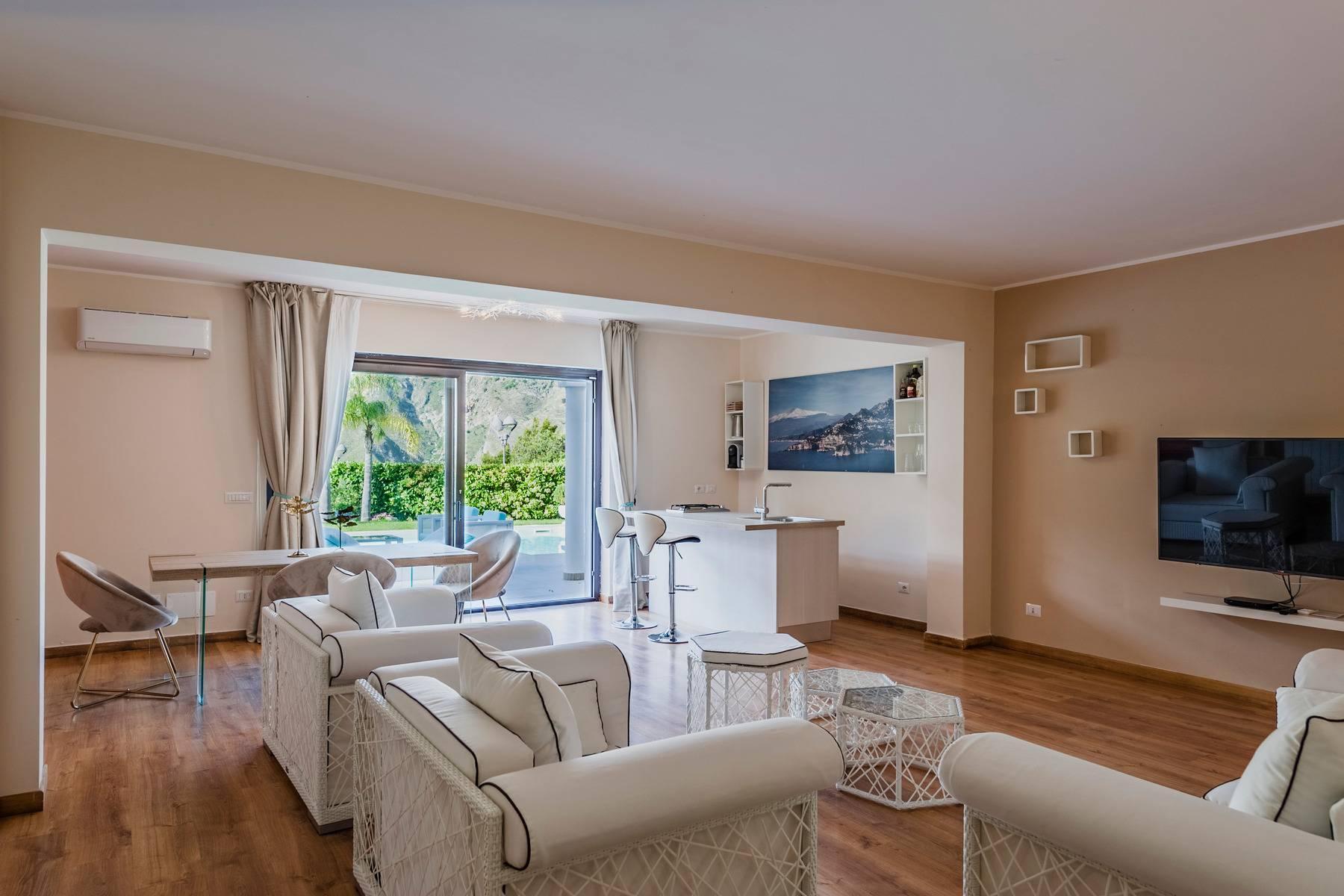 Modern villa with swimming pool in Taormina - 24