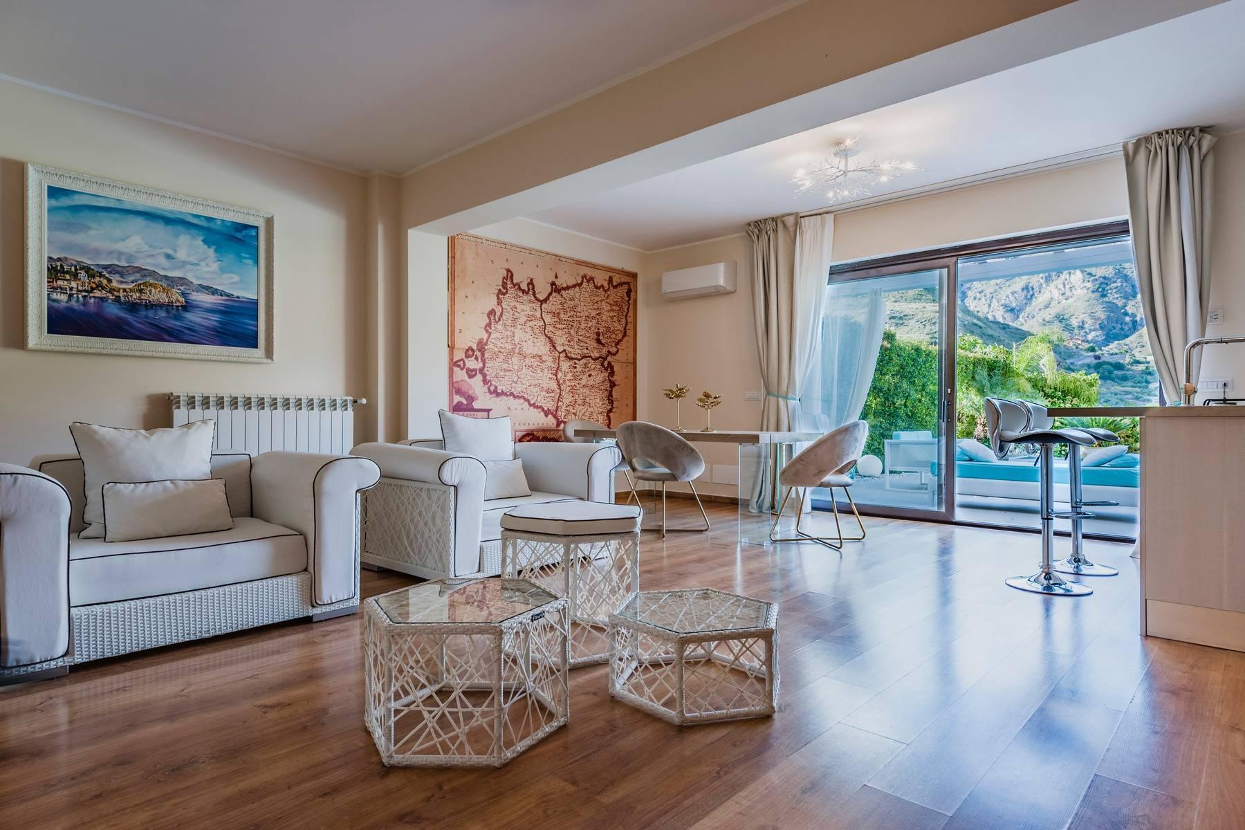Modern villa with swimming pool in Taormina - 26