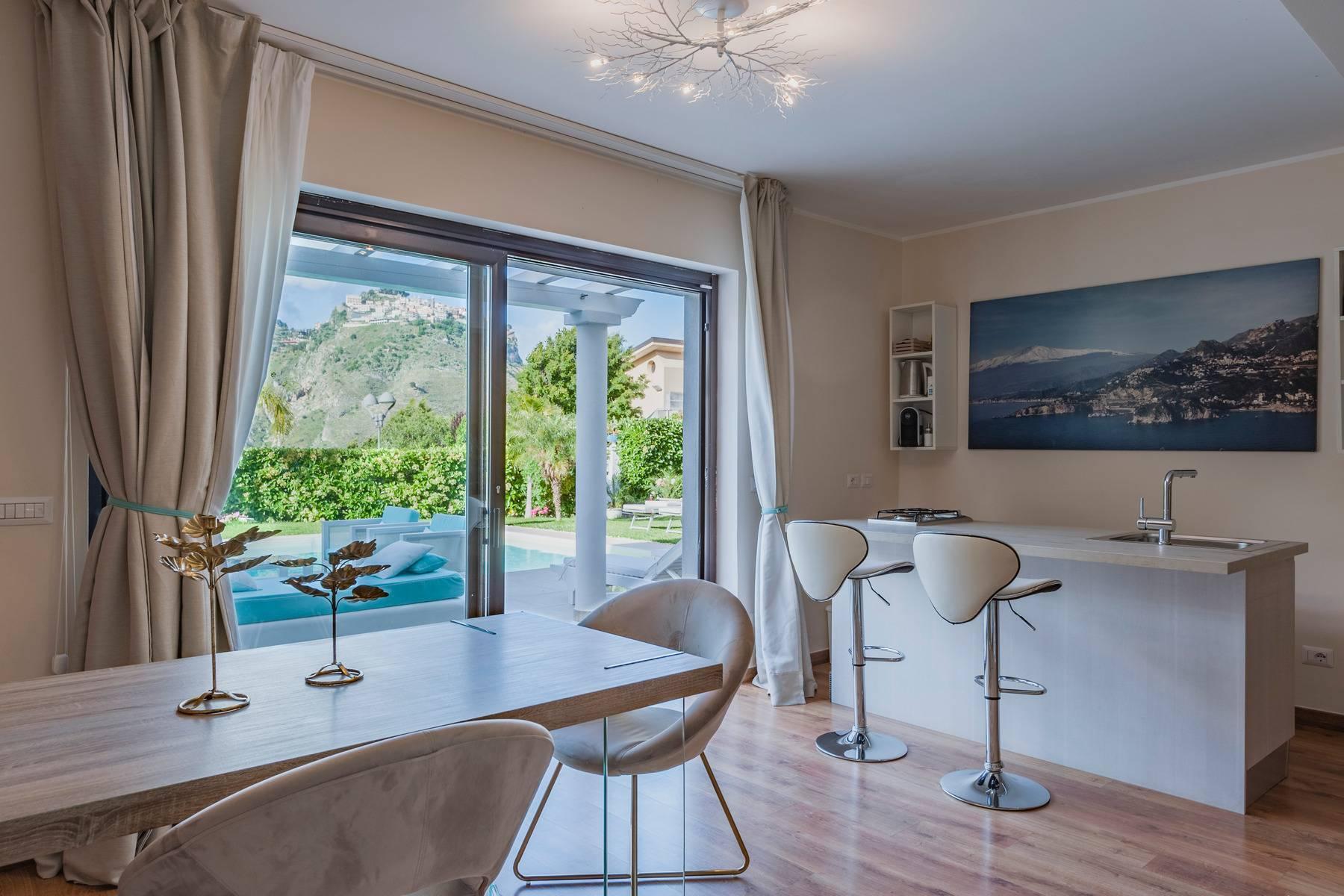 Modern villa with swimming pool in Taormina - 8
