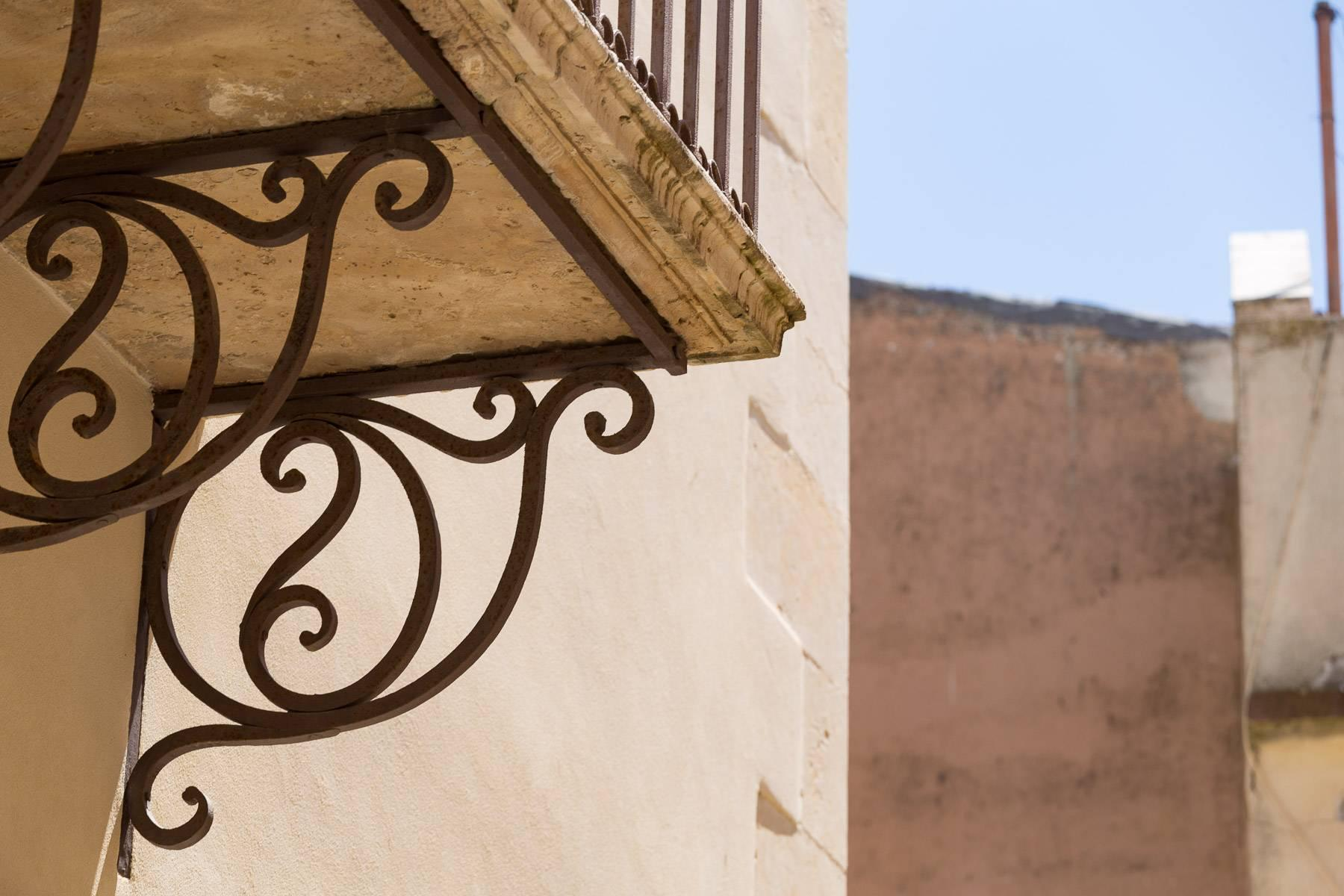 Old building in the historical center of Noto. - 8