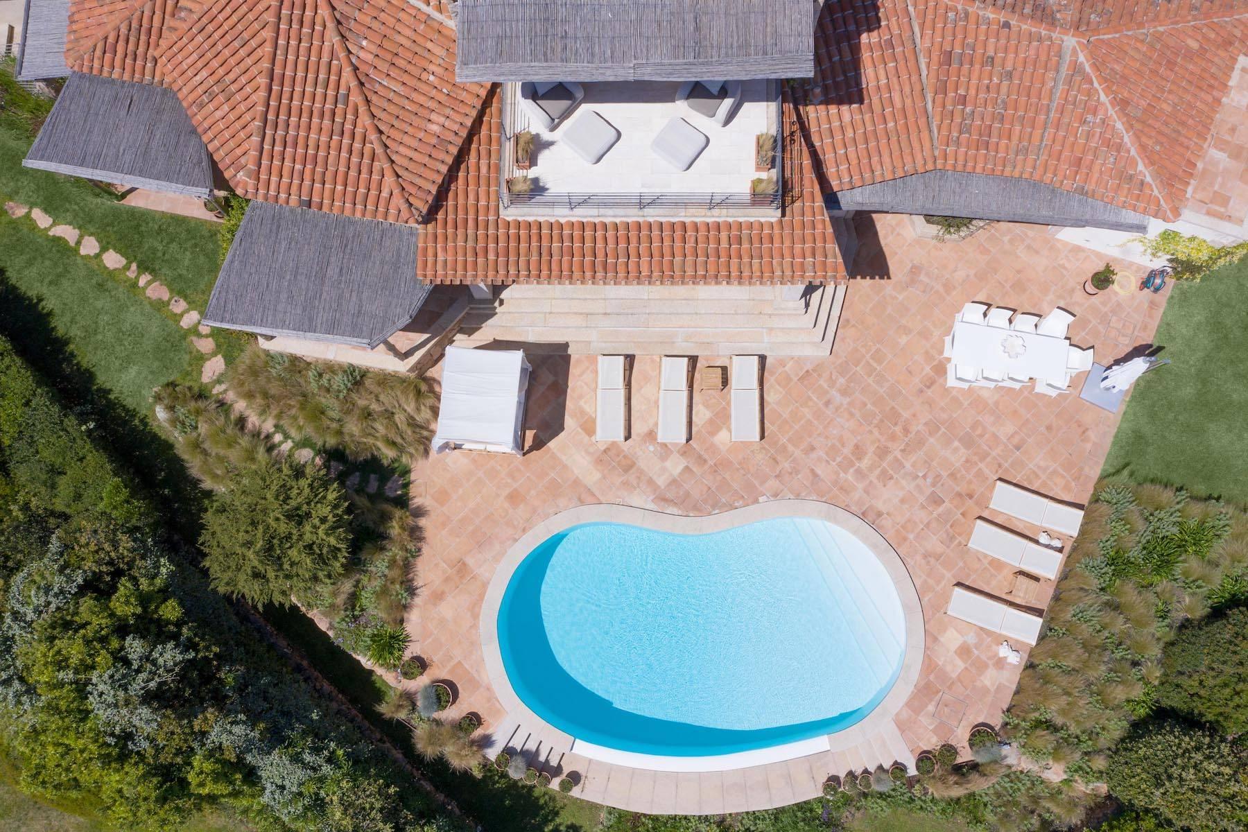Elegante villa di recente costruzione nella collina del Pevero Golf - 5