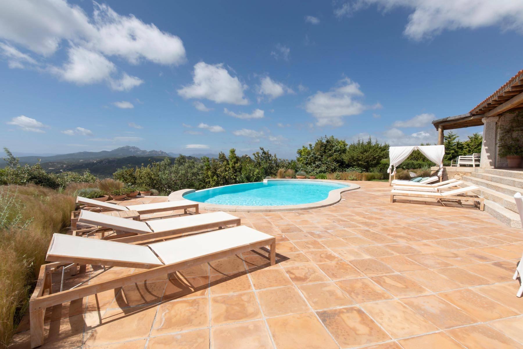 Elegant newly built villa on the hill of Pevero Golf - 9