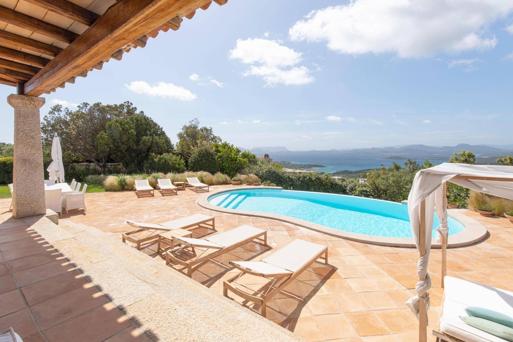 Elegant newly built villa on the hill of Pevero Golf - 11