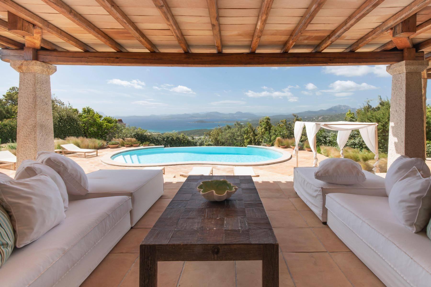 Elegant newly built villa on the hill of Pevero Golf - 12