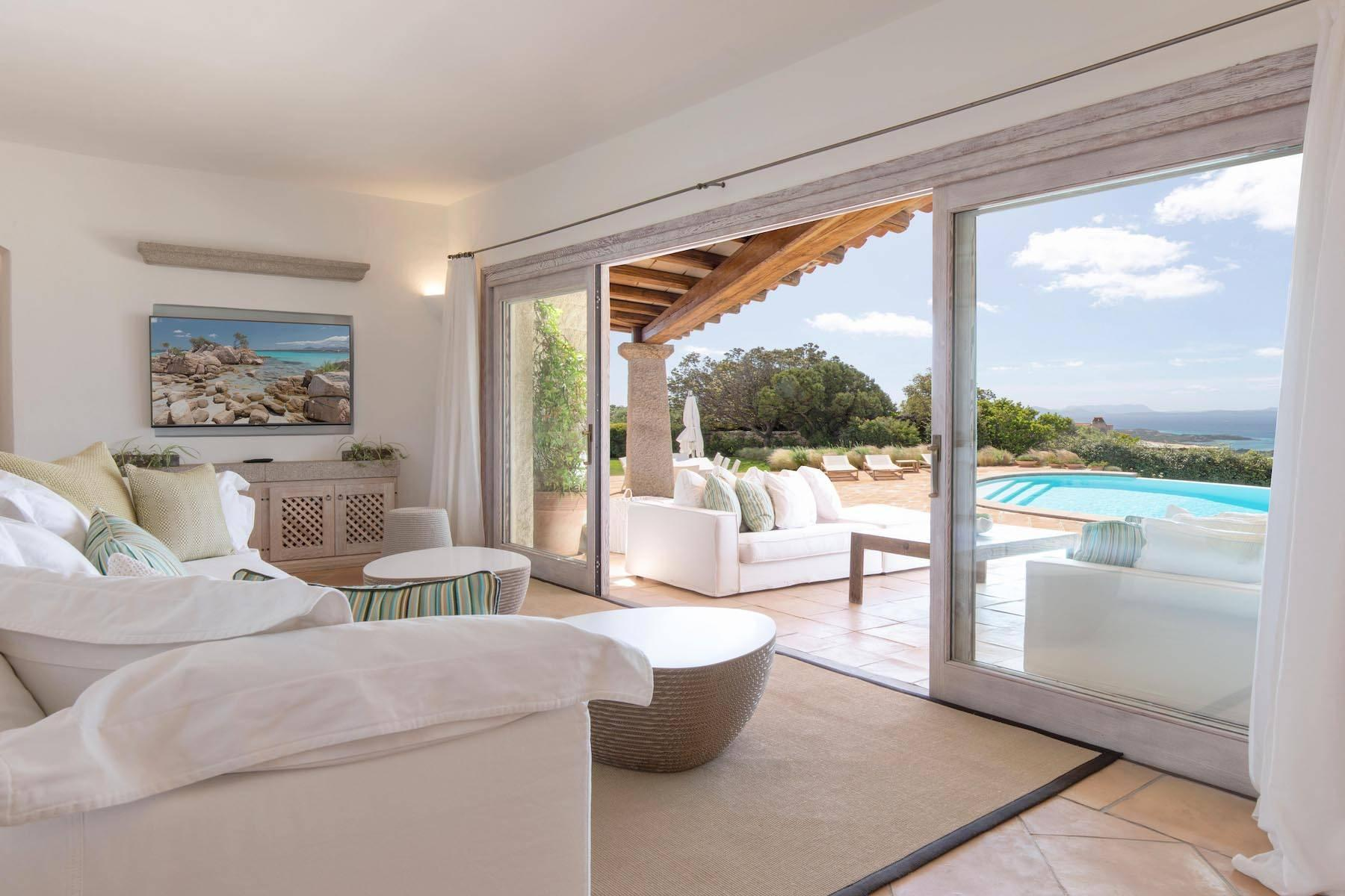 Elegant newly built villa on the hill of Pevero Golf - 13