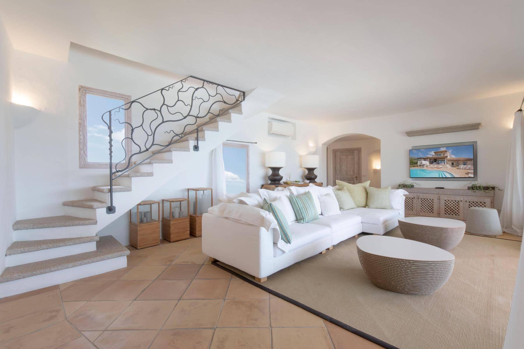 Elegant newly built villa on the hill of Pevero Golf - 14