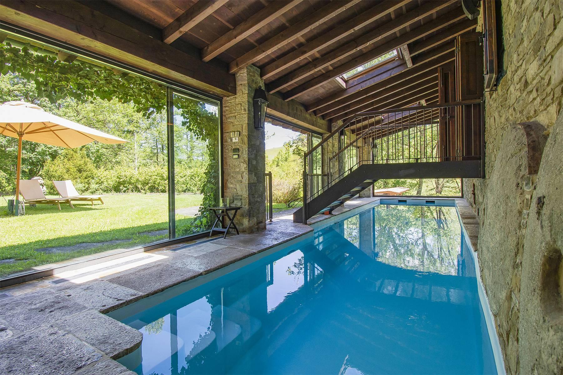 Bellissimo Mulino della metà dell'800 con piscina interna - 28