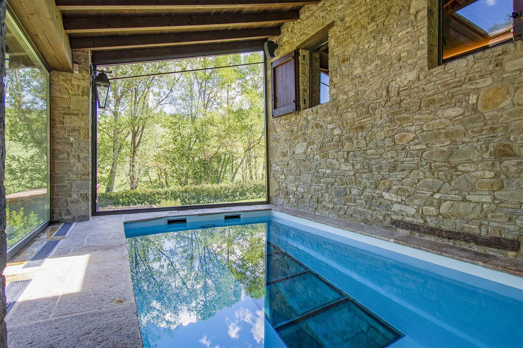 Bellissimo Mulino della metà dell'800 con piscina interna - 29