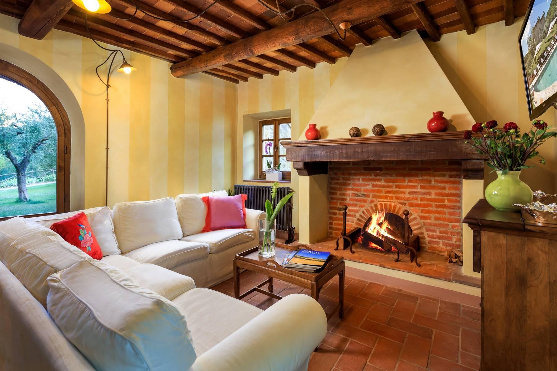 Beautiful property in the heart of Chianti Aretino - 9