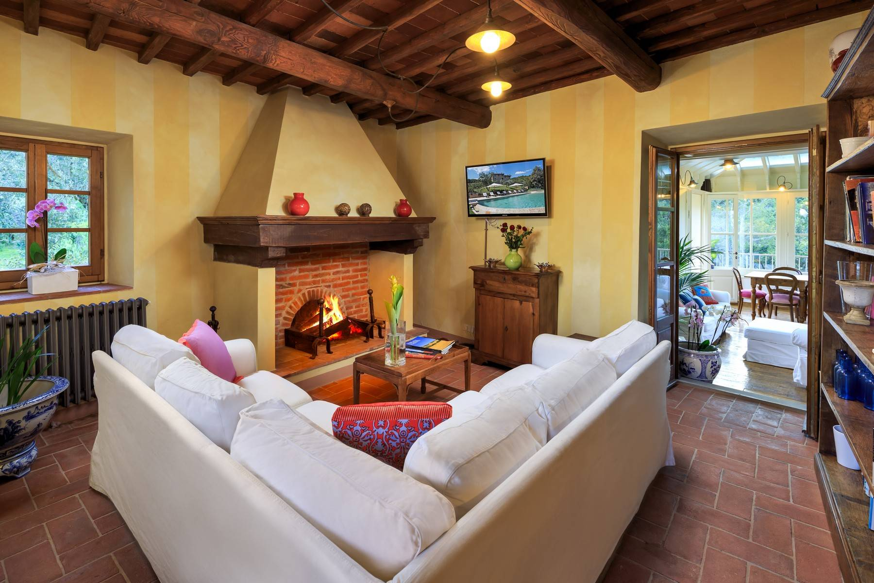 Herrliches Anwesen im Herzen des Chianti-Gebiets von Arezzo - 9