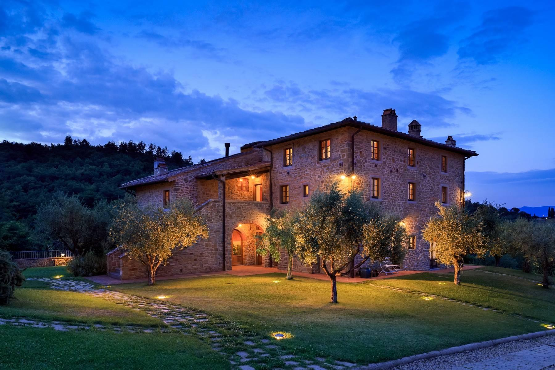 Beautiful property in the heart of Chianti Aretino - 1