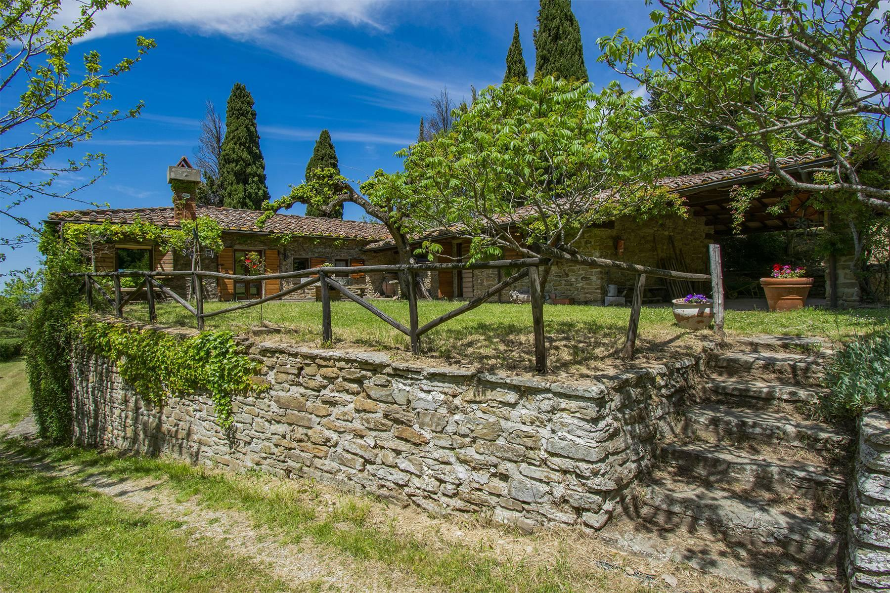 Tipico casale Toscano con vista incantevole su Arezzo - 28