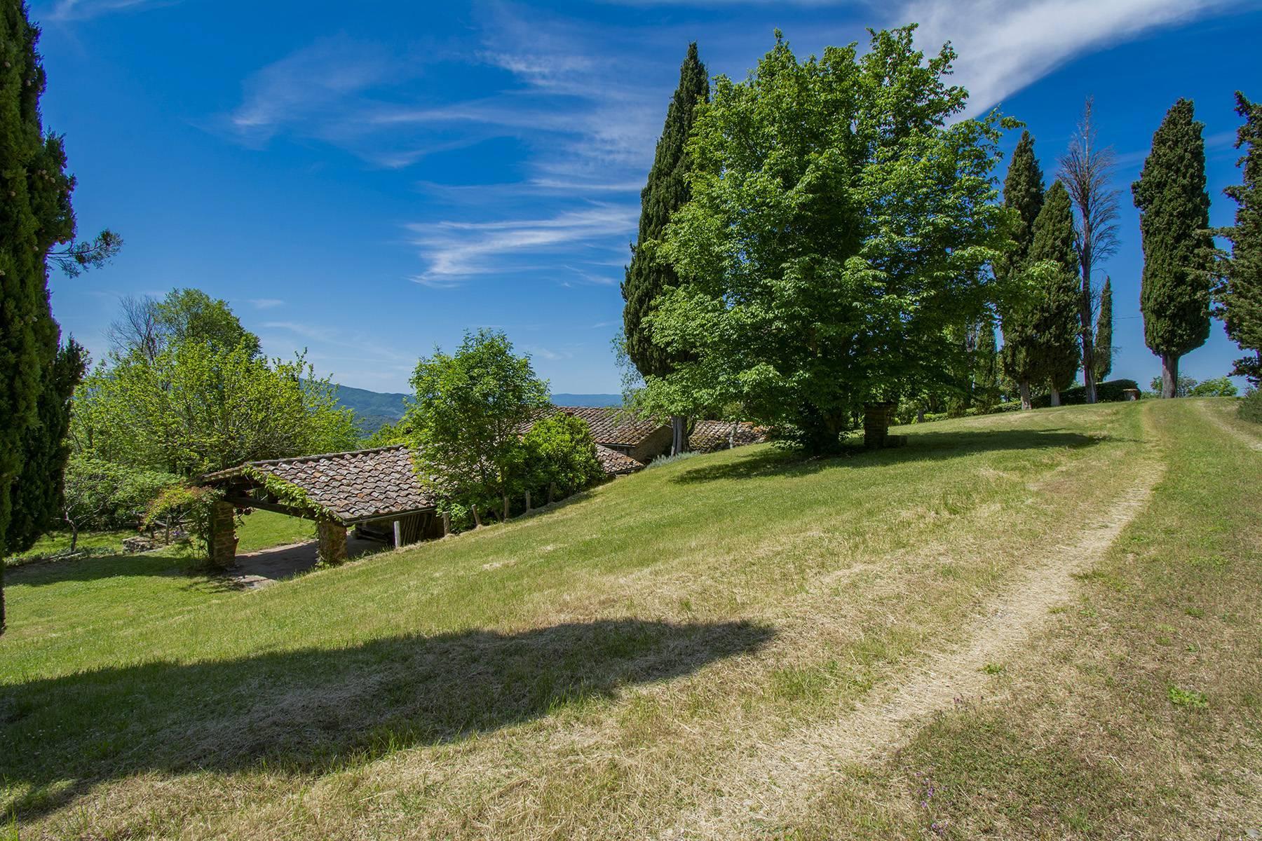 Tipico casale Toscano con vista incantevole su Arezzo - 29