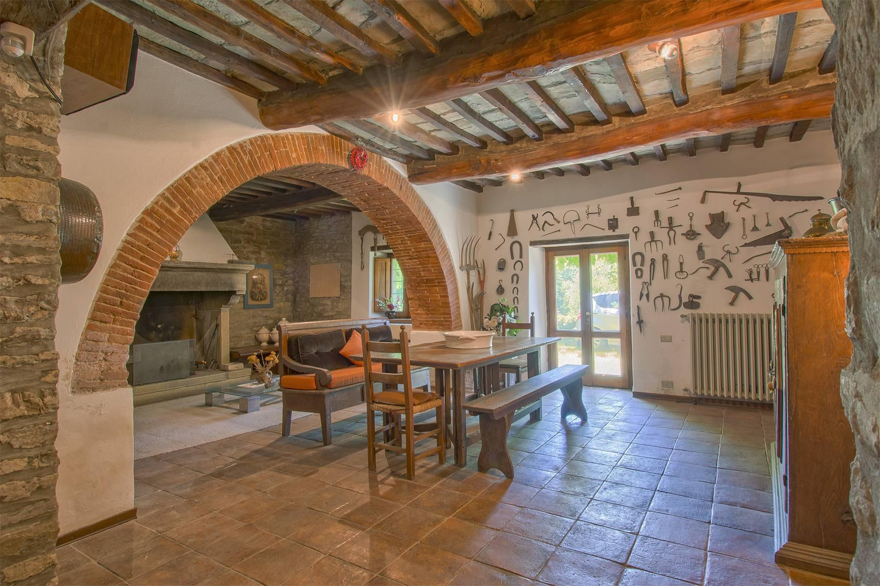 Tipico casale Toscano con vista incantevole su Arezzo - 13