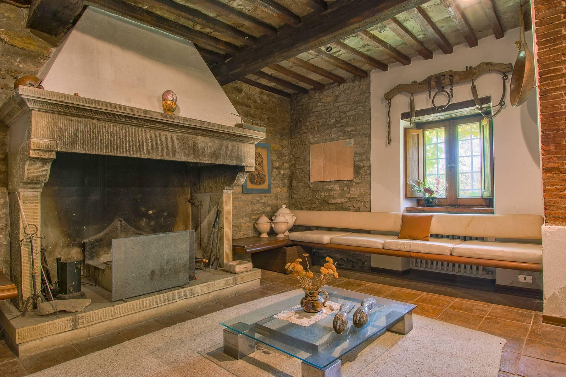 Tipico casale Toscano con vista incantevole su Arezzo - 22