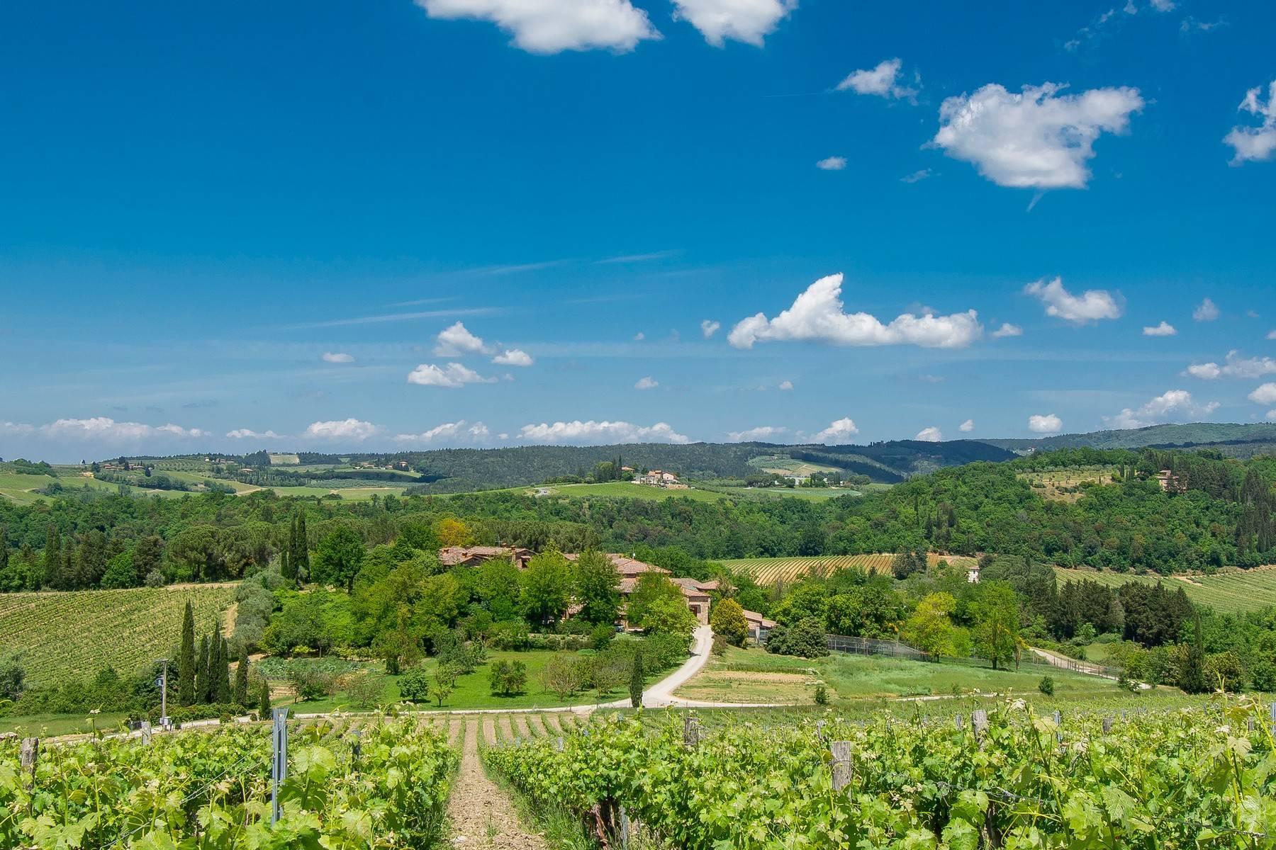 Esclusive wine estate in the heart of Chianti classico - 38
