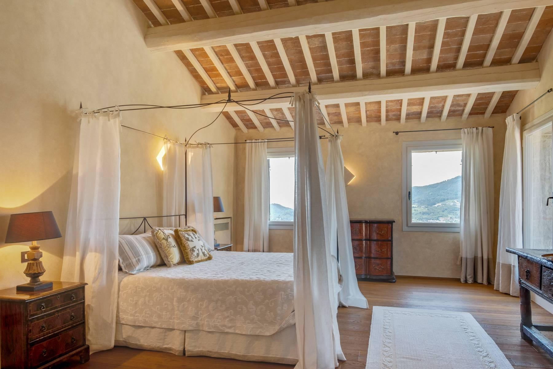 Fabelhaft renoviertes Bauernhaus auf den Hügeln mit Schwimmbad und landwirtschaftlichem Anwesen mit Weinbergen - 28