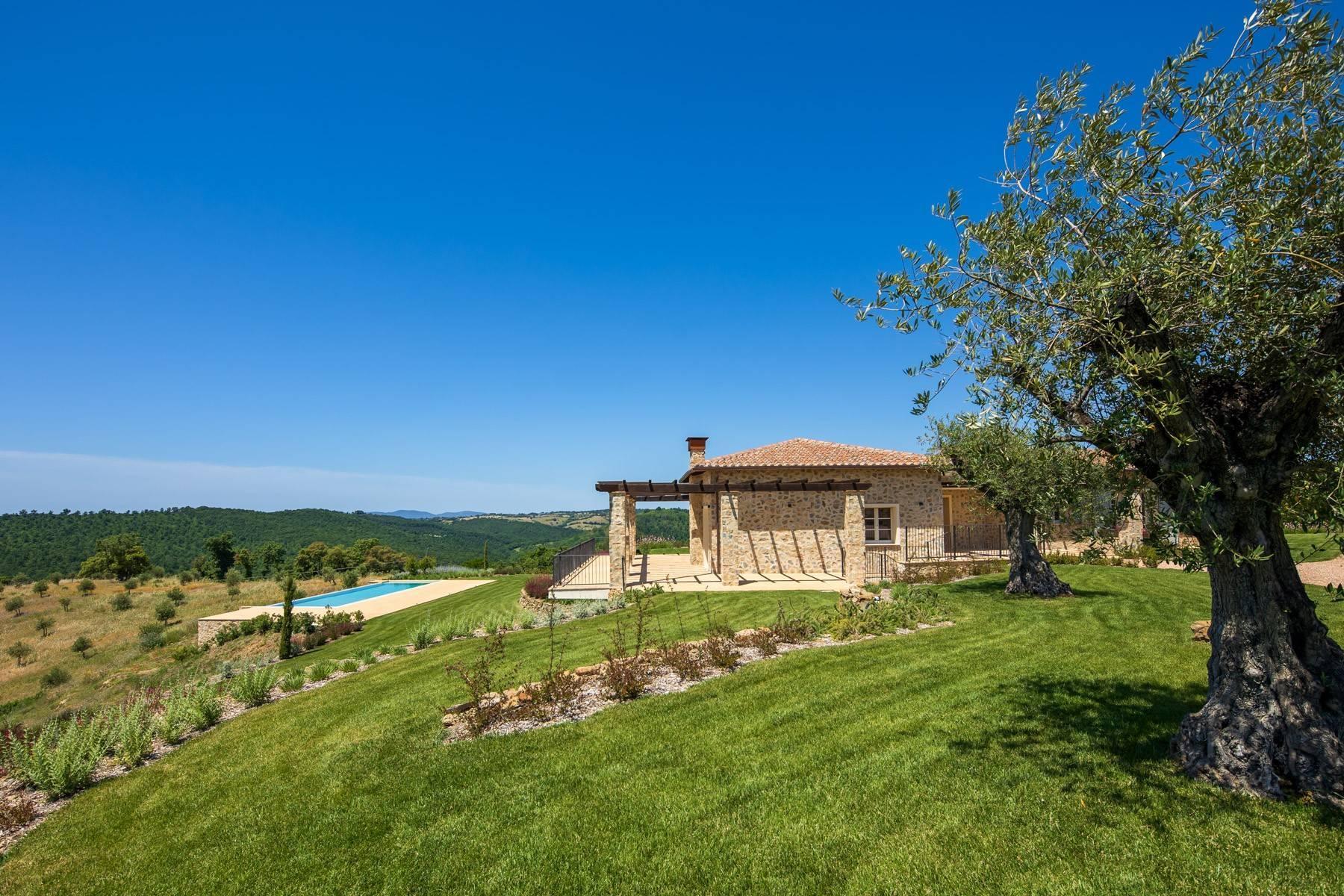Esclusivo casale di nuova costruzione con piscina vista mare - 22
