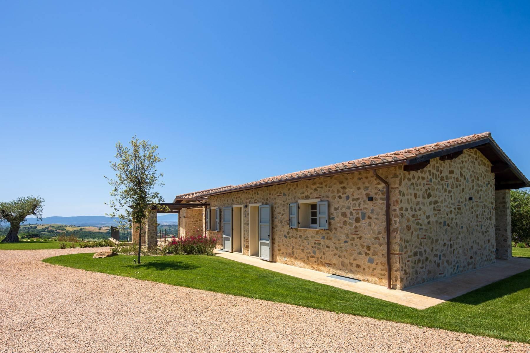 Esclusivo casale di nuova costruzione con piscina vista mare - 18