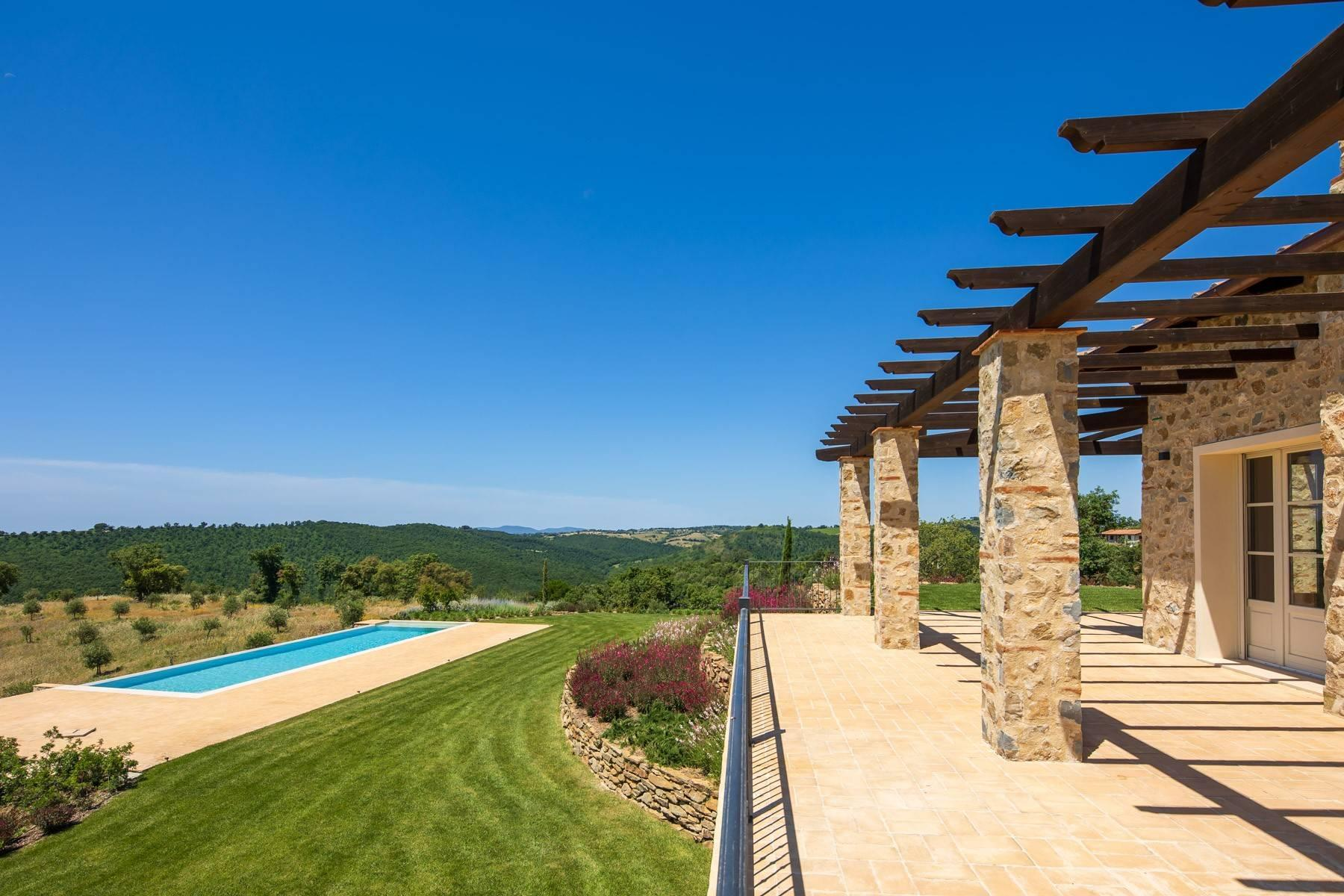 Esclusivo casale di nuova costruzione con piscina vista mare - 19