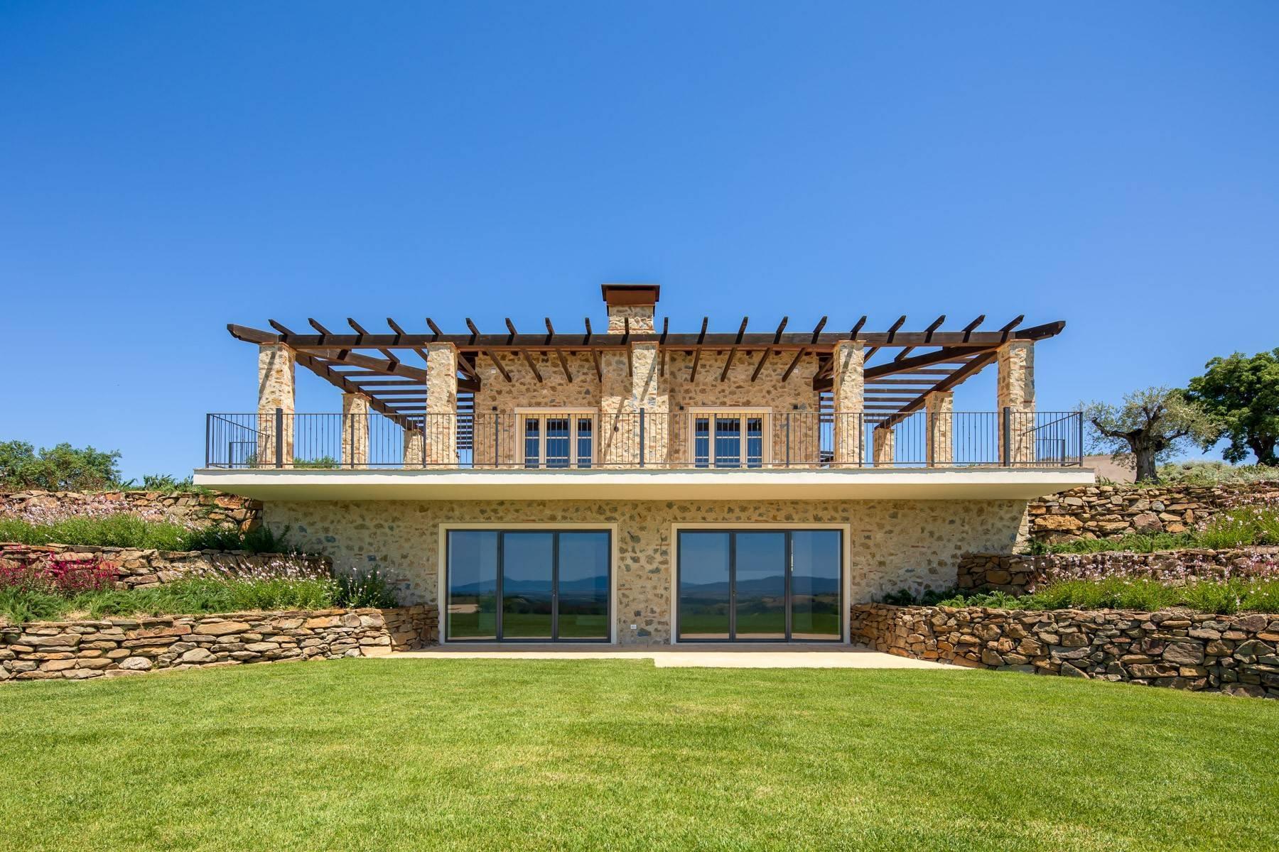 Esclusivo casale di nuova costruzione con piscina vista mare - 4
