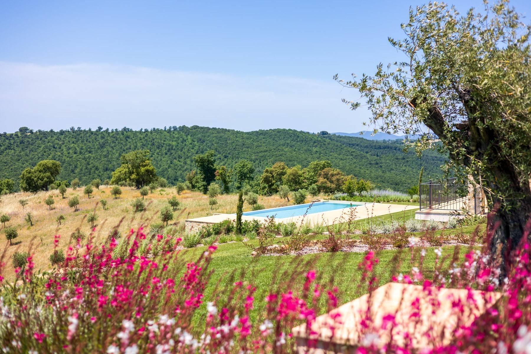 Esclusivo casale di nuova costruzione con piscina vista mare - 20
