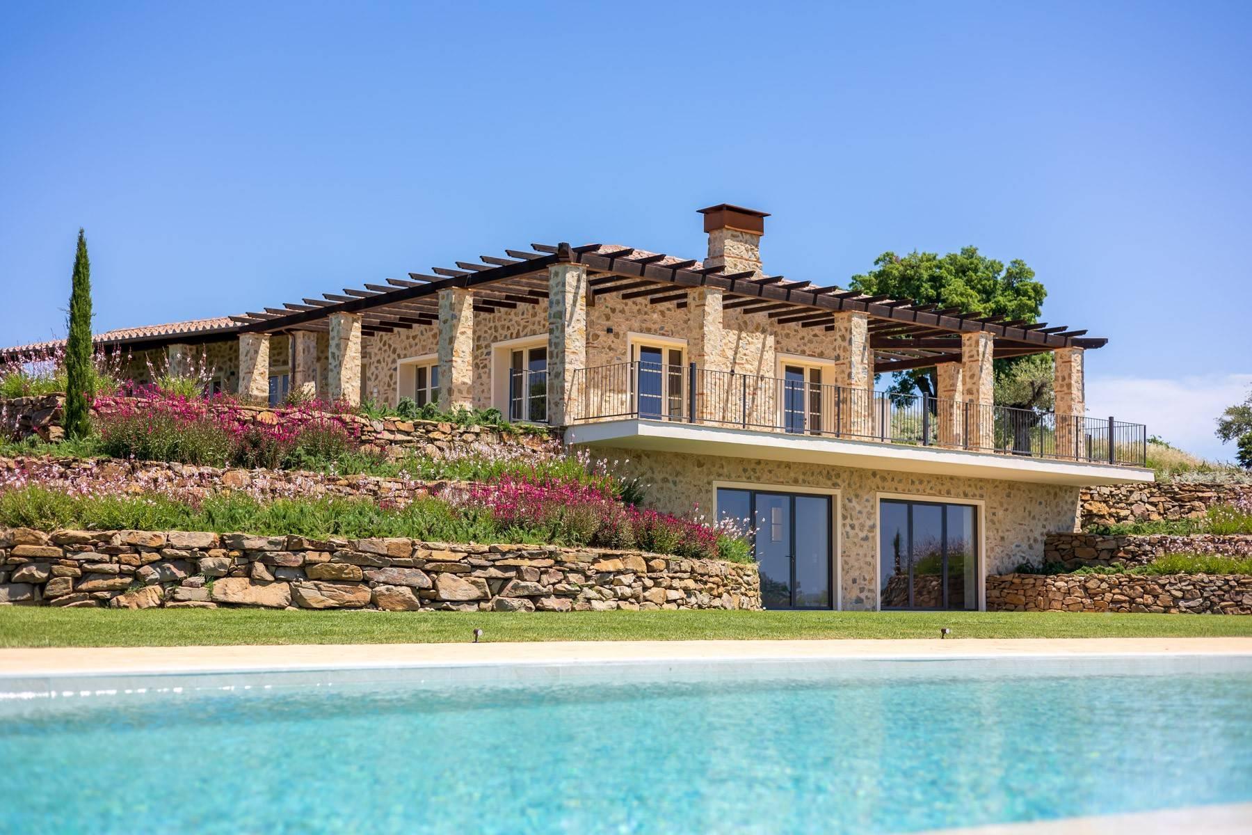 Esclusivo casale di nuova costruzione con piscina vista mare - 6