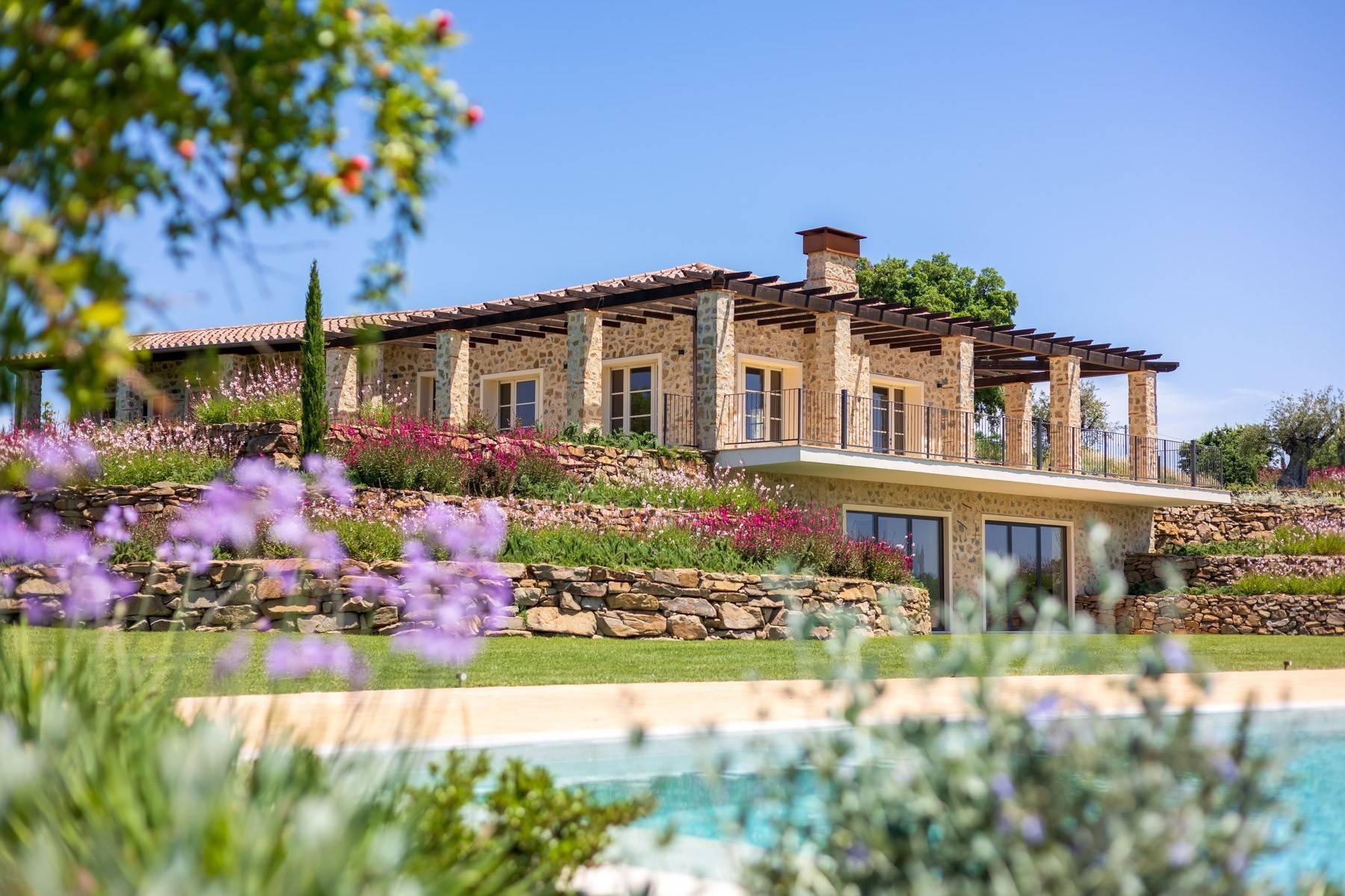 Esclusivo casale di nuova costruzione con piscina vista mare - 1