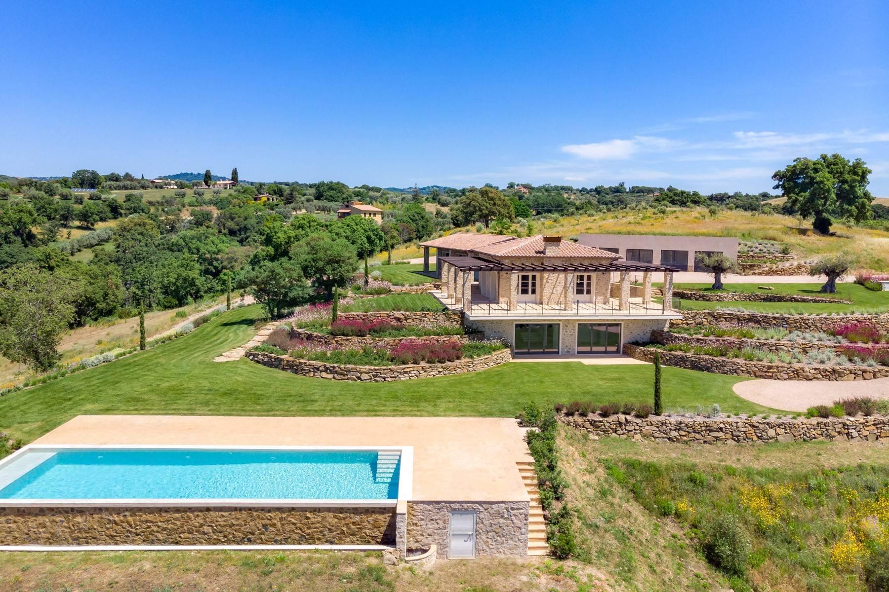Esclusivo casale di nuova costruzione con piscina vista mare - 27
