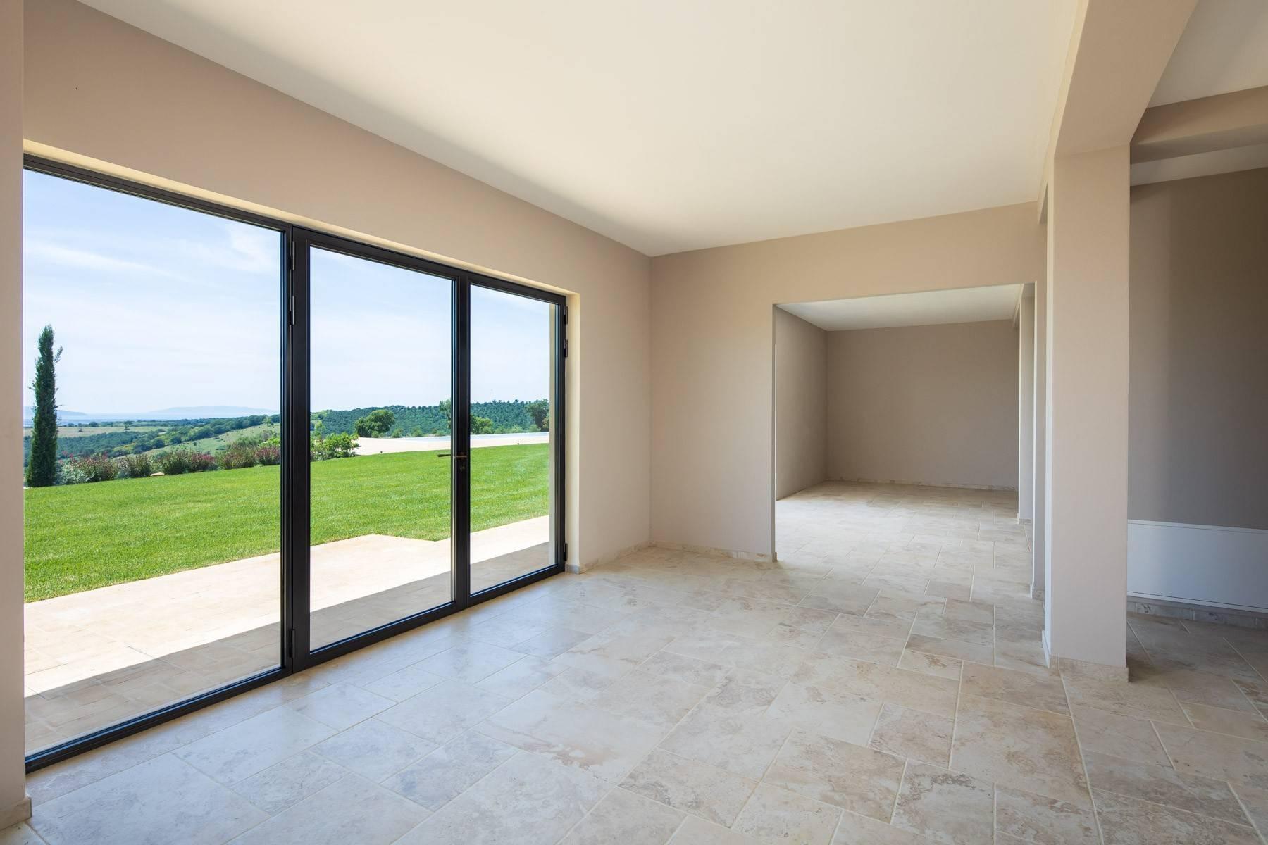 Esclusivo casale di nuova costruzione con piscina vista mare - 15