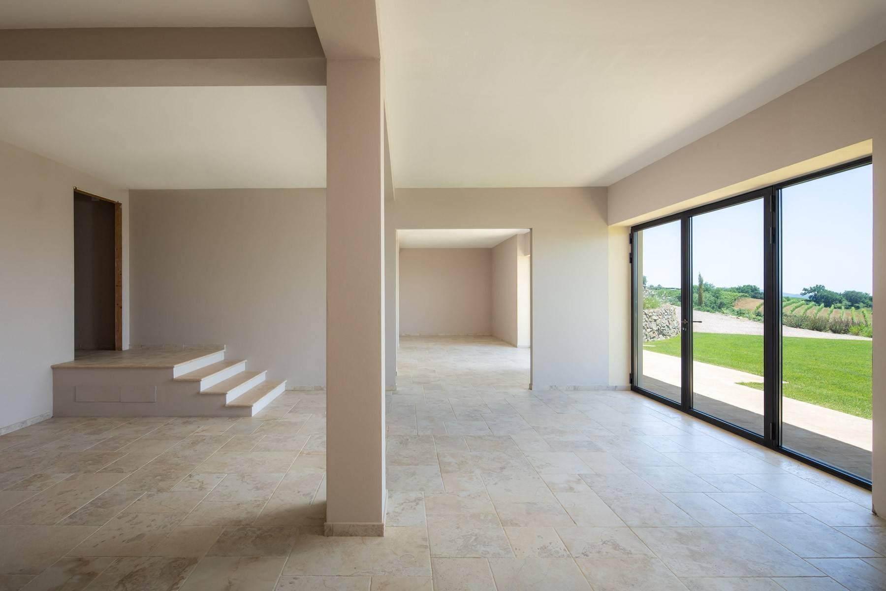 Esclusivo casale di nuova costruzione con piscina vista mare - 13