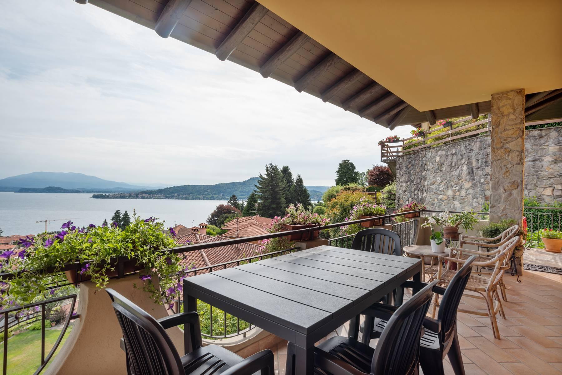Villa sulle colline di Meina con vista lago - 4