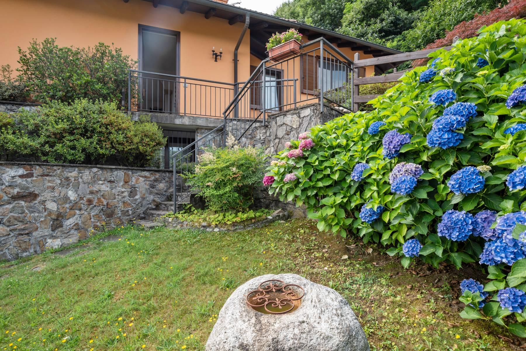 Villa sulle colline di Meina con vista lago - 25