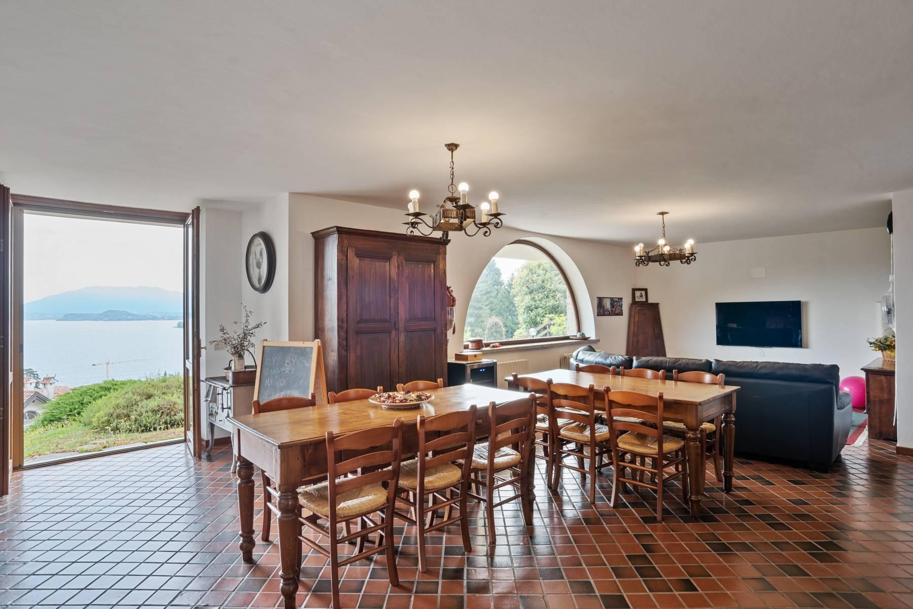 Villa sulle colline di Meina con vista lago - 7