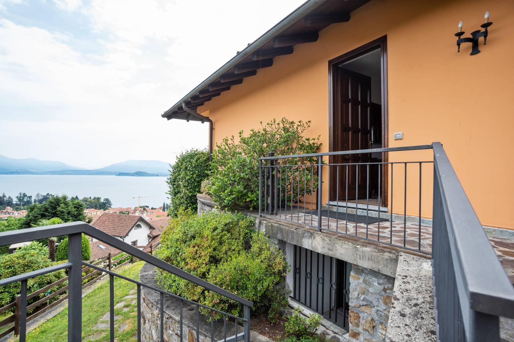 Villa sulle colline di Meina con vista lago - 30