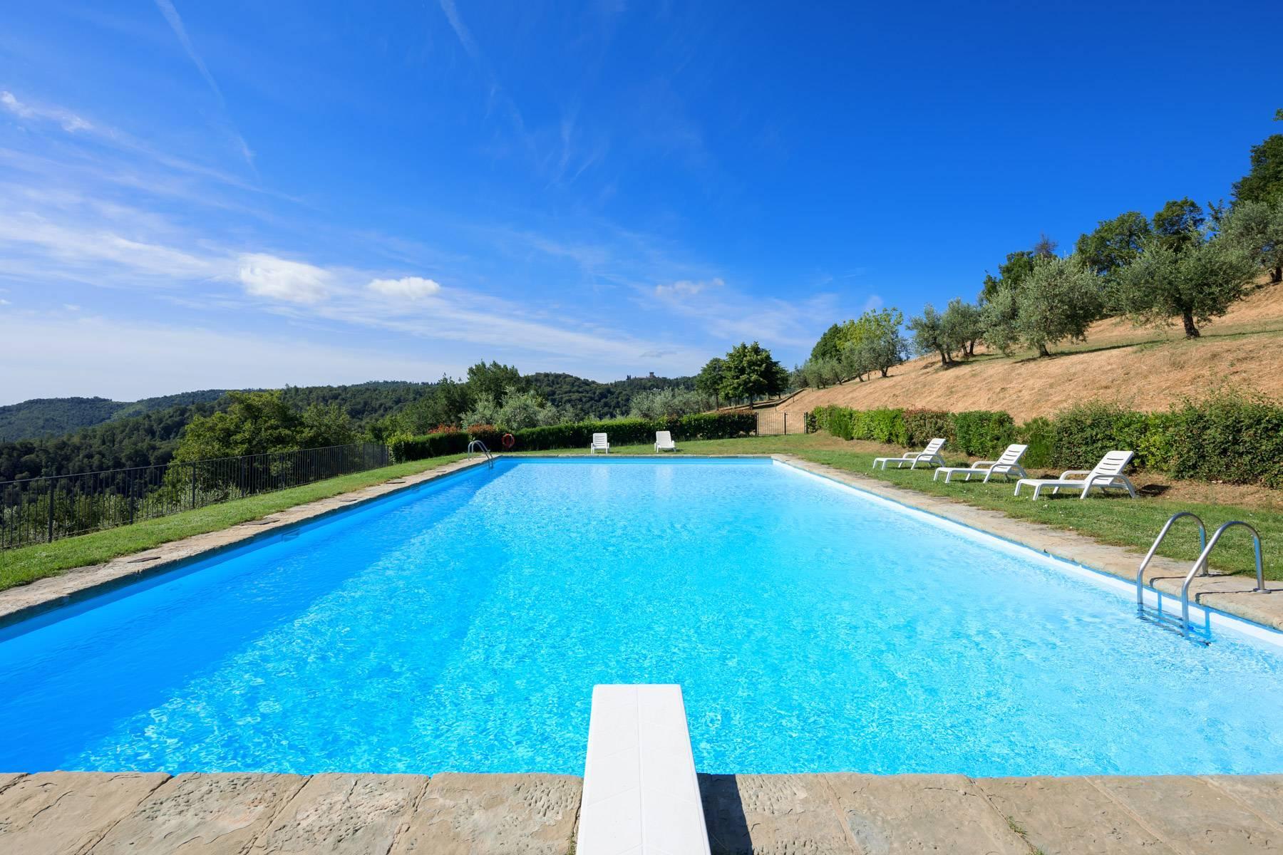 Wunderschönes Bauernhaus auf den Hügeln von Arezzo - 24