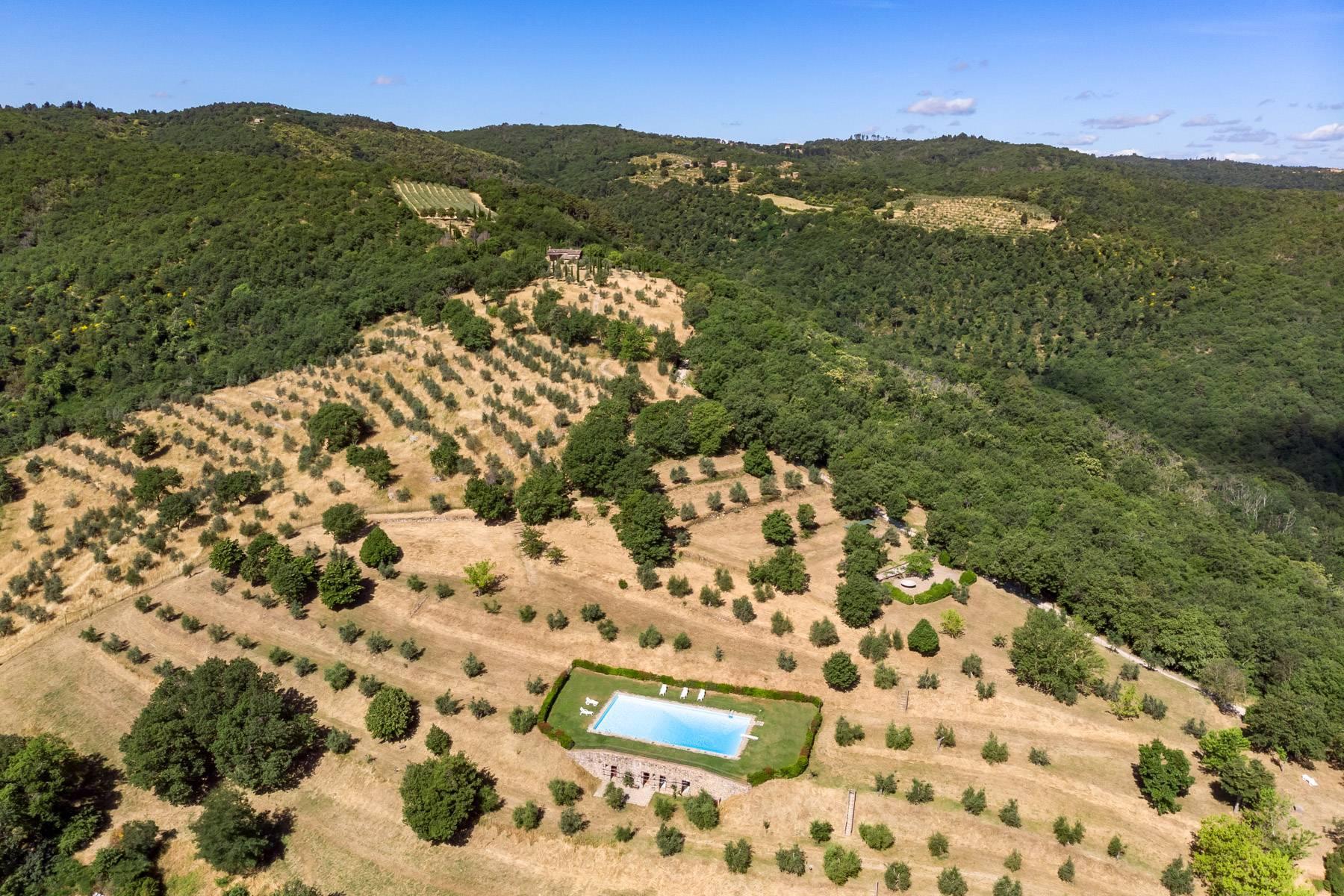 Wunderschönes Bauernhaus auf den Hügeln von Arezzo - 32