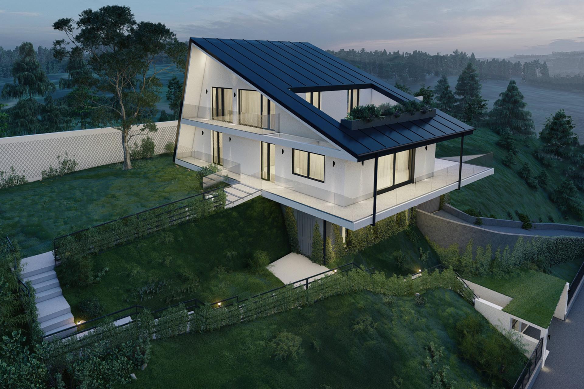 Villa auf dem Hügeln mit Blick auf dem Lago Maggiore - 30
