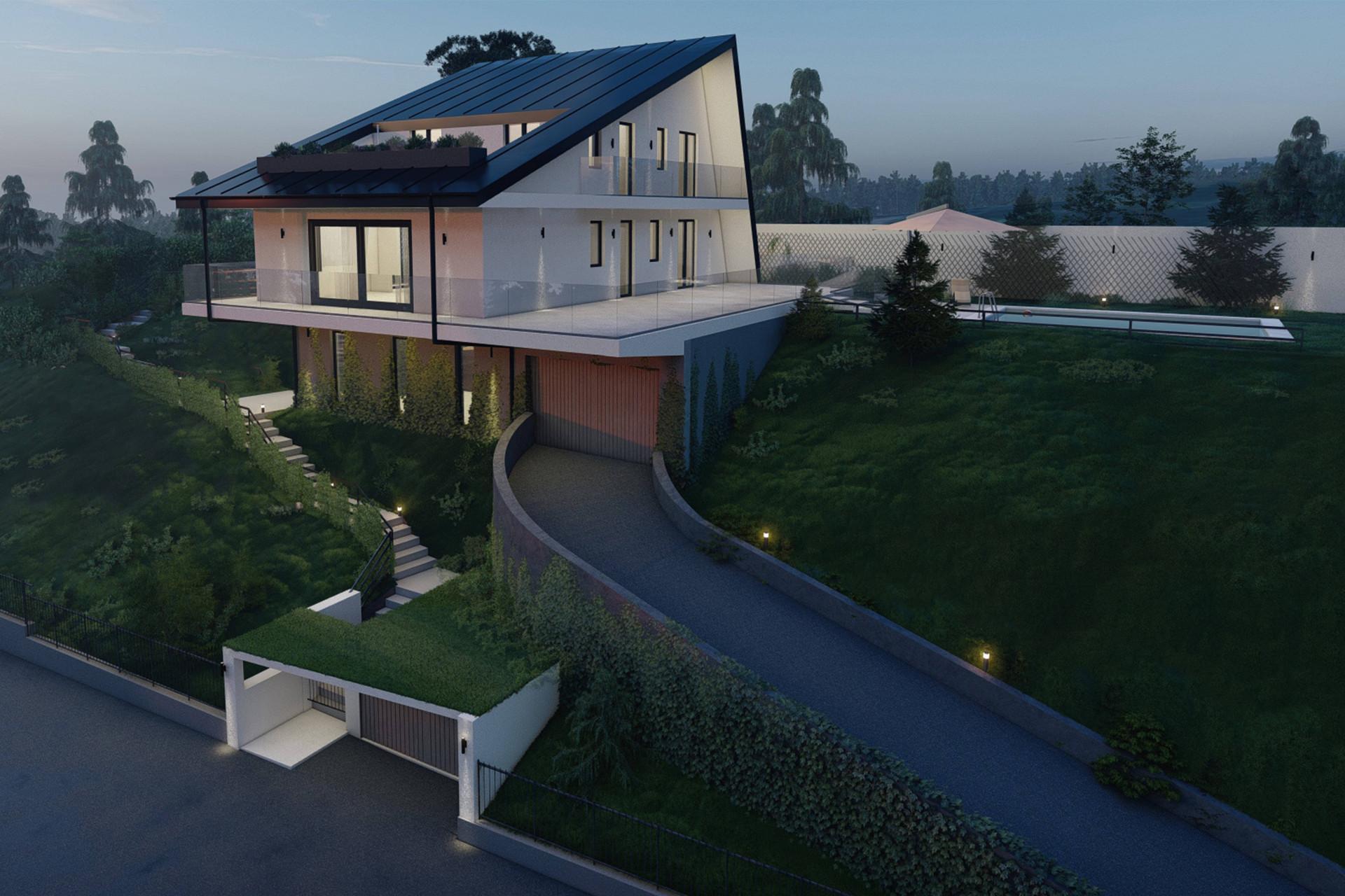 Villa auf dem Hügeln mit Blick auf dem Lago Maggiore - 31