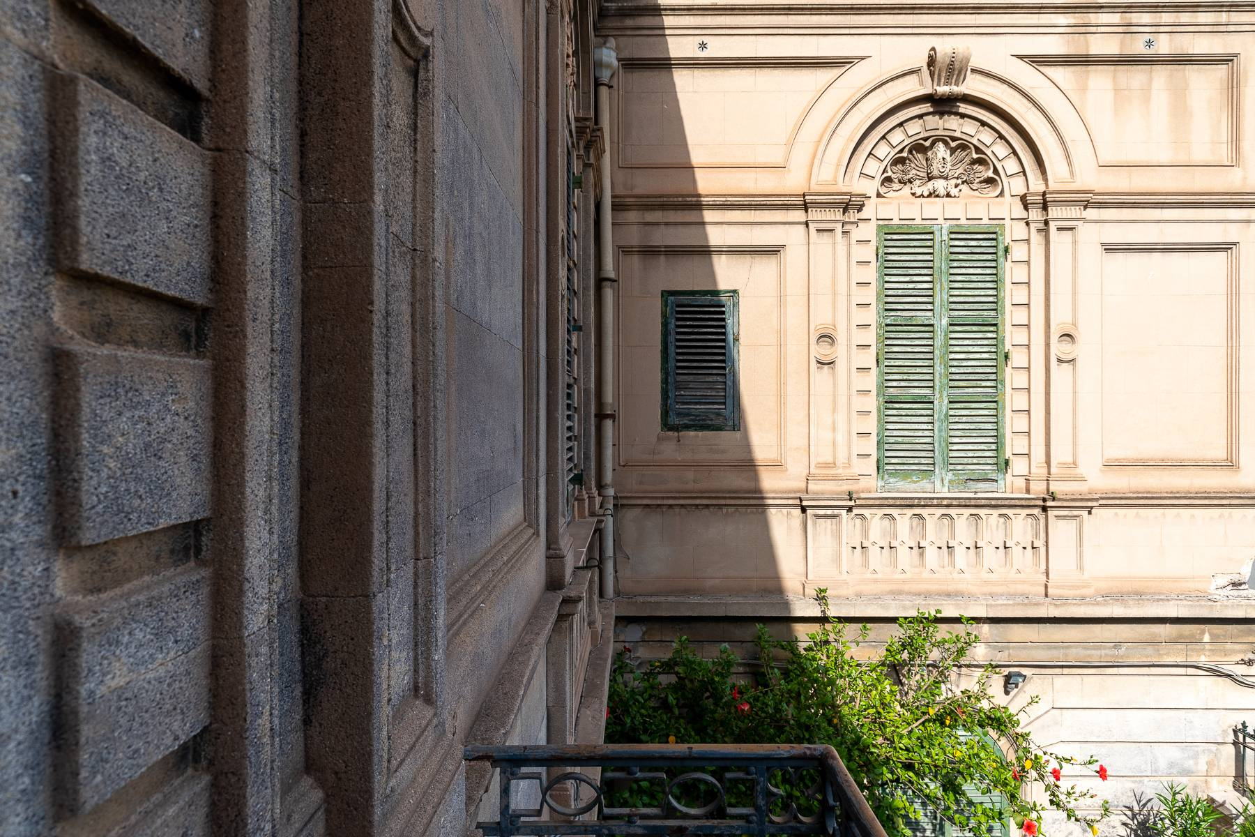 Liberty style building in the historical center of Trapani - 21