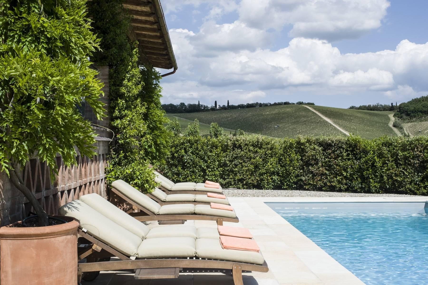 Idyllische toskanische Villa im Chianti mit Pool - 3